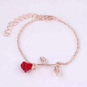 Rose 🌹 Gold Beauty & The Beast Bracelet. 🆕